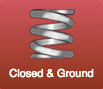 closed and ground ends