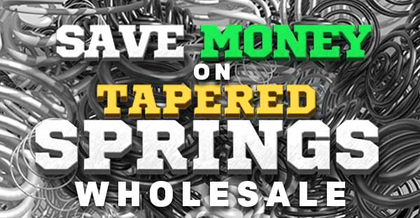 tapered springs wholesale